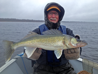 image of Craig Anderson with Red Lake Walleye