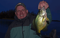 image of Kevin Scott with big Crappie