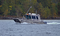 image of Garmin Survey Crew on Lake Winnie