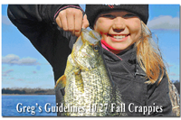 image of Claire Clusiau and big Crappie