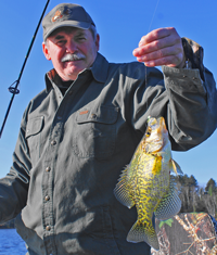 image of Terry with big Crappie
