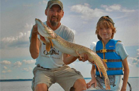 image of Kevin Dahlke with big pike