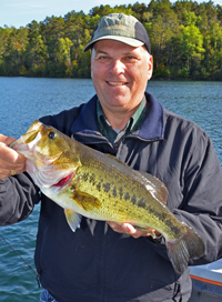 image of Paul Kautza with Largemouth Bass