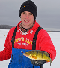 image of Perch caught using a 360 jig