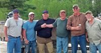 image of robby ott with fishing crew