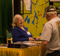 image of Dianna Schumacher at the northwest sportshow