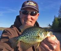 image of Jeff Sundin with Crappie