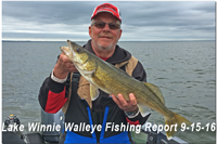 image links to bowen lodge walleye report