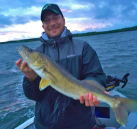 image of 28 inch Walleye caught on Cass Lake