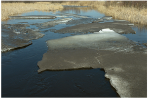 image of ice conditions at deer river