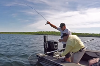 image links to walleye fishing video