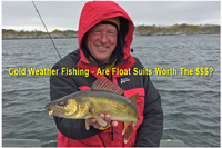 image of jeff sundin with walleye