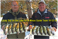 image of kevin scott and al heimer with walleyes