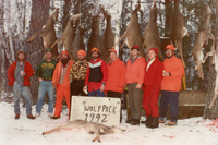image of greg clusiau deer hunting party