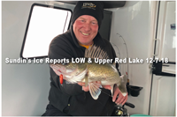 image of walleye caught on Lindy Glow Spoon