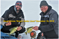 image of ice fishermen with crappies