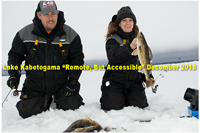 image of Dawn and Kent Keeler of Kabetogama outdoors