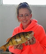 image of Jenna Theis with huge perch