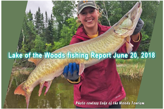 image of lake of the woods musky