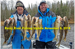 image of greg jones and joe henry with rainy river walleyes