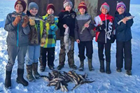 image of kids with walleyes