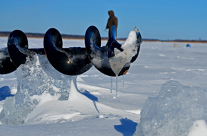 image of icy auger