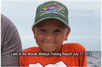 image links to lake of the woods fishing report