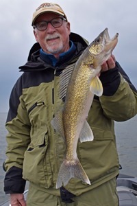 image of craig anderson with nice walleye