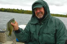 Bluegill Pete Raquet October 2009
