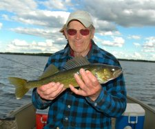 Walleye lawrence Blackmer June 2009