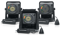image of humminbird ice fishing flashers