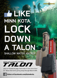image links to Minn Kota Motors Talon Giveaway