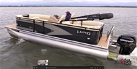 image of new Lund Pontoon Boat