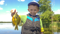 image links to article about kids fishing