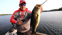 image of Scott Glorvigen with big Bass