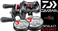 image links to fishing reel giveaway