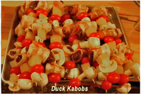 image of Duck Kabobs