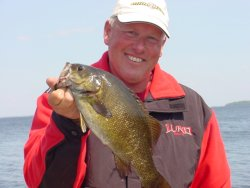 Smallmouth Bass, Jeff Sunidn 7-5-06