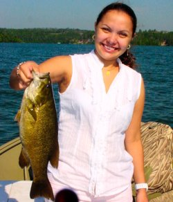 Smallmouth Bass, Elizabeth Reardon 7-8-06