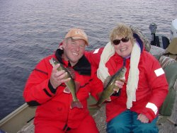Walleye Jeff and Virginia Sundin 5-13-06
