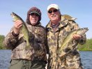 Bill Linder and Roger Will Walleyes 5-19-06