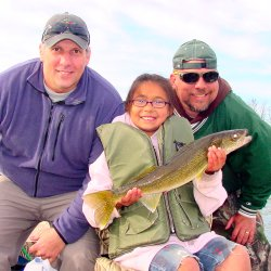 """Gabby"" Goettl 23 Inch Walleye 5-27-08"